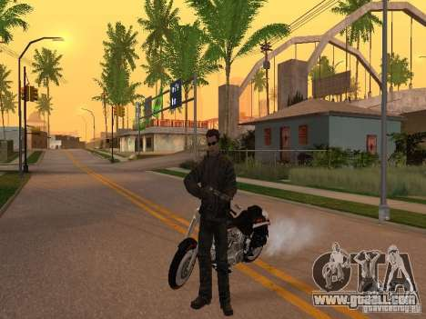 Terminator for GTA San Andreas second screenshot