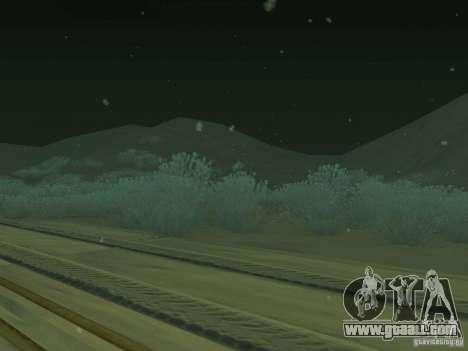 Snow v 2.0 for GTA San Andreas third screenshot