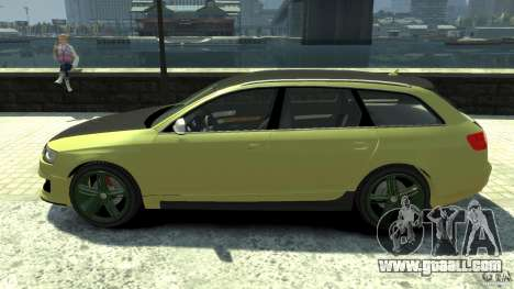 Audi RS6 Avant 2010 Carbon Edition for GTA 4 left view