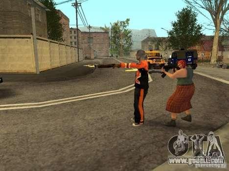Any group of player 3.0 for GTA San Andreas third screenshot