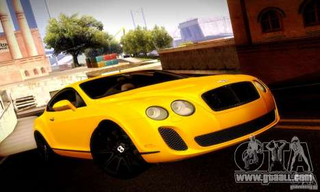 Bentley Continental Supersports for GTA San Andreas side view