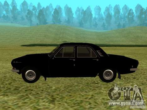 GAZ-24 Volga 01 for GTA San Andreas right view