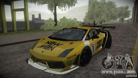 Lamborghini Gallardo LP560-4 GT3 for GTA San Andreas