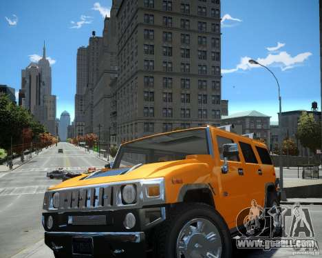 Hummer H2 2010 Limited Edition for GTA 4 left view