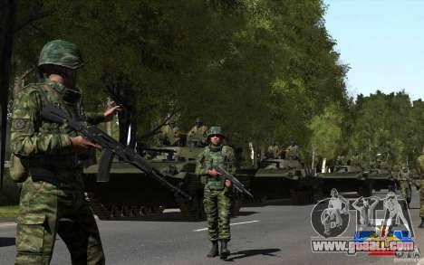 A Russian soldier skin for GTA San Andreas third screenshot