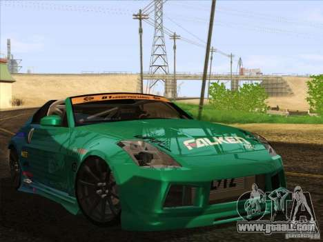Nissan 350Z Falken Tire for GTA San Andreas right view