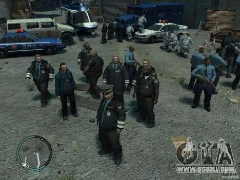 Russian Cops for GTA 4