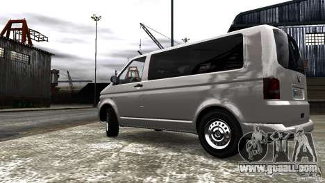 Volkswagen T5 Facelift for GTA 4 back left view