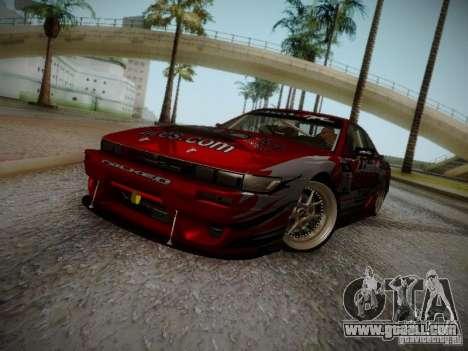 Nissan Silvia S13 Daijiro Yoshihara v2 for GTA San Andreas