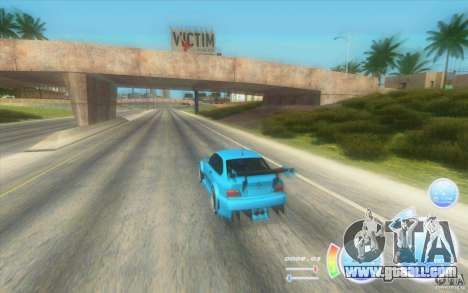 CraZZZy Speedometer v. 2.2 + Limited diesel for GTA San Andreas second screenshot