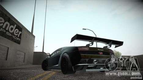 Lamborghini Gallardo LP560-4 GT3 for GTA San Andreas inner view