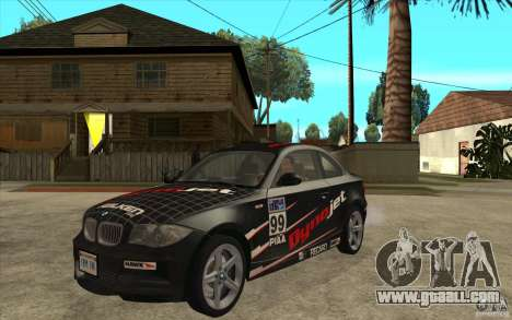 BMW 135i Coupe for GTA San Andreas left view