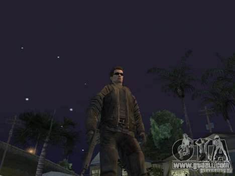 Terminator for GTA San Andreas third screenshot