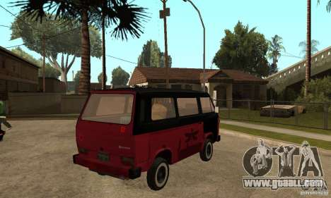 Volkswagen T3 Rusty for GTA San Andreas right view