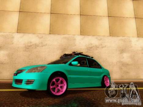 Mitsubishi Lancer for GTA San Andreas