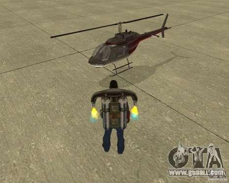 Pak air transport for GTA San Andreas interior