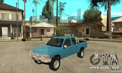 Toyota Hilux CD for GTA San Andreas