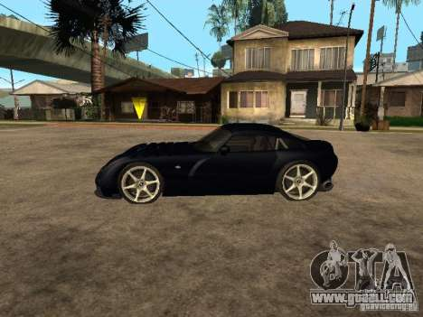 TVR Sagaris for GTA San Andreas back left view