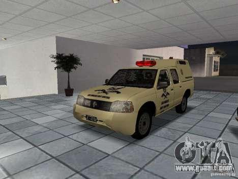 Nissan Terrano LARC for GTA San Andreas