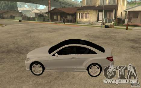 Mercedes Benz E-CLASS Coupe for GTA San Andreas left view