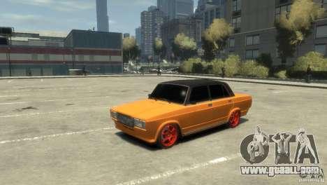 VAZ 2107 v3.0 for GTA 4 left view