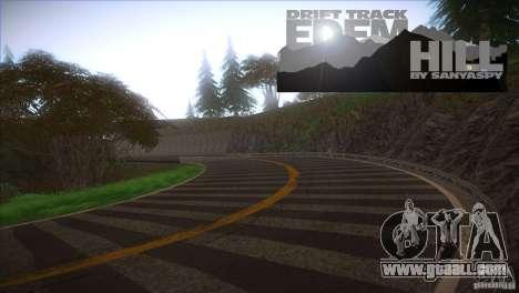Edem Hill Drift Track for GTA San Andreas second screenshot