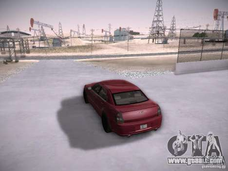 Chrysler 300C SRT8 for GTA San Andreas side view