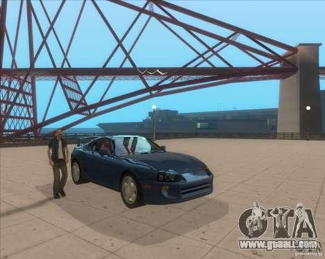 ENB from GTA VI come Back for GTA San Andreas second screenshot