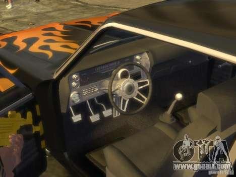 Chevrolet Nova SS 1969 for GTA 4 right view