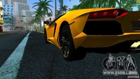 Lamborghini Aventador LP 700-4 for GTA Vice City right view