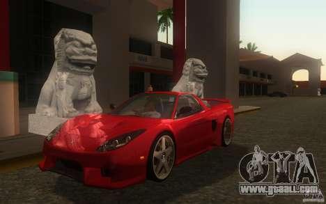 Honda NSX VeilSide Fortune for GTA San Andreas