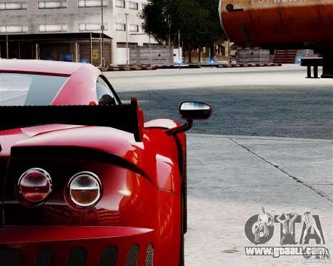 Ascari A10 2007 v2.0 for GTA 4 back view