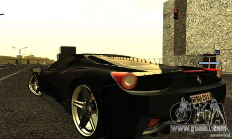 ENB Series 2013 HD by MR for GTA San Andreas sixth screenshot