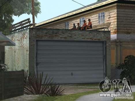 The New Grove Street for GTA San Andreas third screenshot