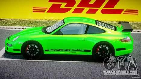 Porsche 997 GT3 RS for GTA 4 back left view