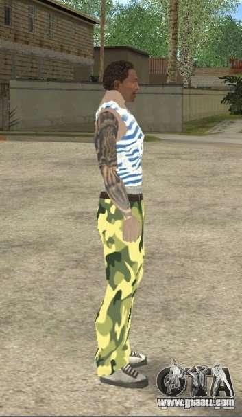 CJ VDV for GTA San Andreas third screenshot