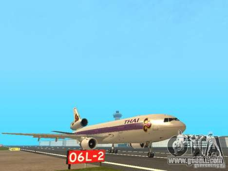 McDonell Douglas  DC 10 Thai Airways for GTA San Andreas left view