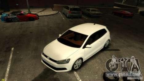 Volkswagen Polo v1.0 for GTA 4 back view
