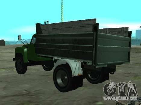 GAZ 53 Truck for GTA San Andreas back left view