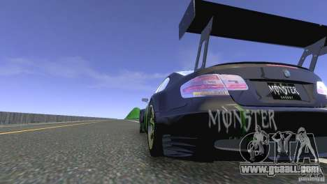 BMW M3 Monster Energy for GTA 4 back left view