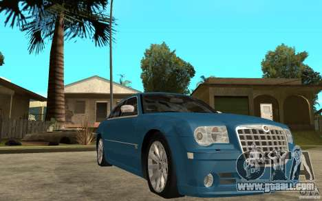 Chrysler 300C 6.1 SRT-8 2007 for GTA San Andreas back view