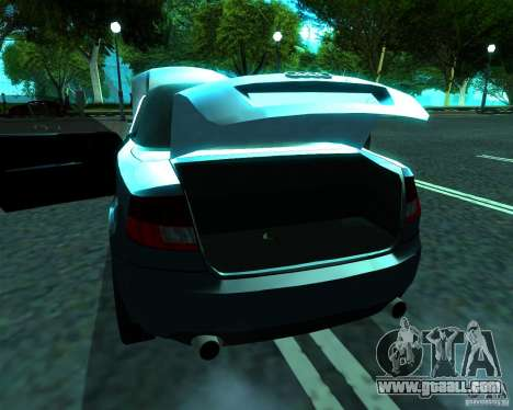 Audi A4 Cabrio for GTA San Andreas right view