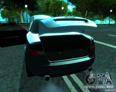 Audi A4 Cabrio for GTA San Andreas right view