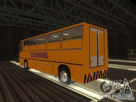 Technical Ikarus 280 for GTA San Andreas back left view