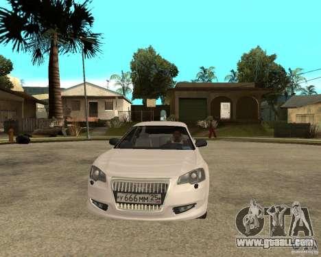 GAZ Volga Siber 2.5 AT for GTA San Andreas back view