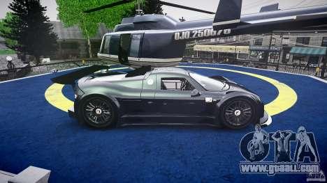 Gumpert Apollo Sport v1 2010 for GTA 4 side view