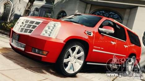 Cadillac Escalade ESV Platinum 2012 for GTA 4