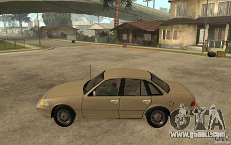 Ford Crown Victoria LX 1992 for GTA San Andreas left view