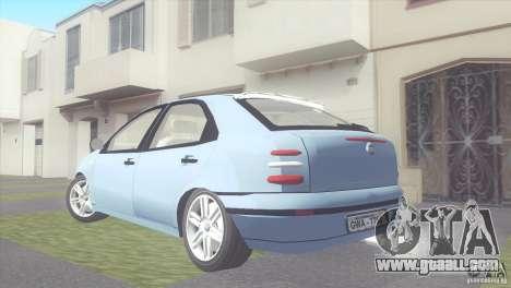 Fiat Brava HGT for GTA San Andreas left view