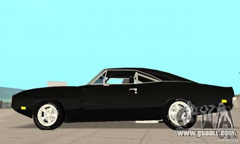 Dodge Charger RT 1970 The Fast & The Furious for GTA San Andreas left view
